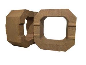 电熔镁筒型砖